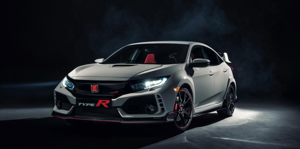 Honda muestra la potencia máxima de los Civic con el nuevo Type R