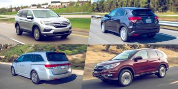 Honda y sus mejores carros familiares