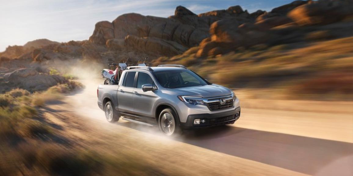 La rediseñada Honda Ridgeline 2017 reconocida como Pick Up del Año de Norte América